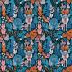 Tkanina 22550 | Canada. Canadian wildlife animals. moose, bear, fox, bunny, deer