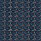 Fabric 22551 | Ritual midsummer forest animals. owl, goat, cat, frog, bunny, raccoon, fox.