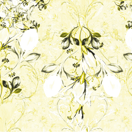 Fabric 22557 | KOMPOZYCJA Z KWIATAMI - SERIA 7