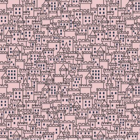 Tkanina 22560 | zamek 3 pink