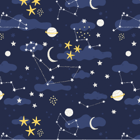 Fabric 22701 | galaxy, stars and cosmos
