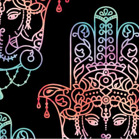 Fabric 22746 | Hamsa marmurek 1 xl