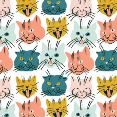 Tkanina 22748 | Cats