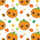 Tkanina 22750 | Jesienny wzor z dyniami small