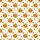 Fabric 22750 | Jesienny wzor z dyniami small