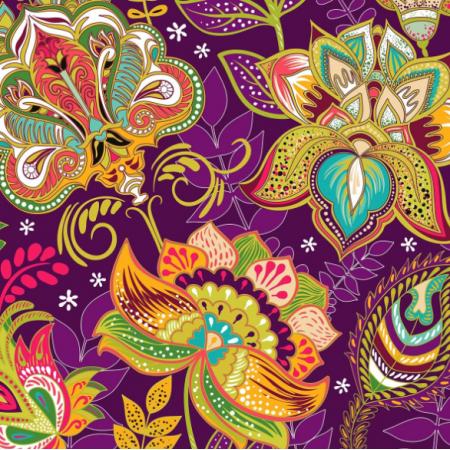 Fabric 22764 | Indiański 7