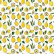 Fabric 22776 | Fresh summer lemons