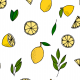 Fabric 22780 | Lemons with leaves