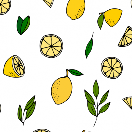22780 | Lemons with leaves