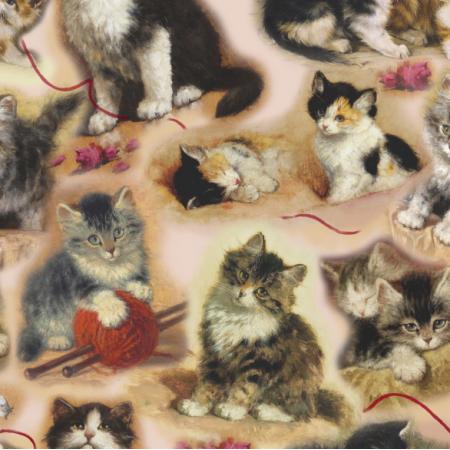 Fabric 22789 | KOTY KOTKI I KOCIĘTA