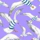 Tkanina 22804 | Seagulls Millennial Purple
