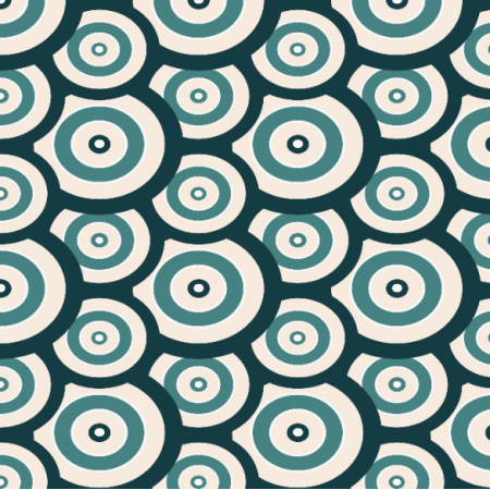Fabric 22861 | Crazy circles