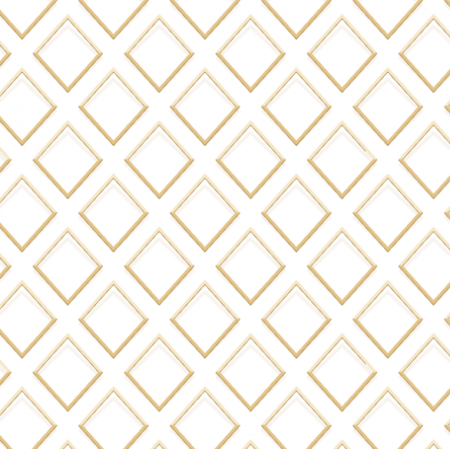 Fabric 22865 | golden rhombus