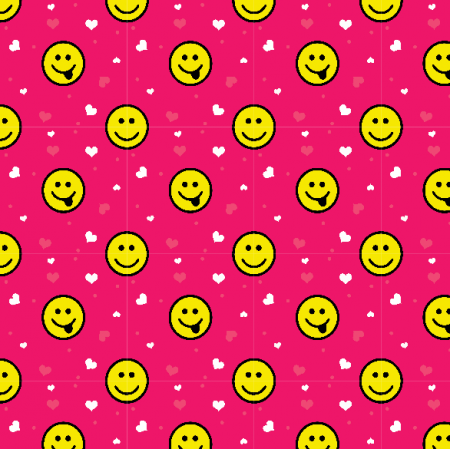 Fabric 22869 | smileys small
