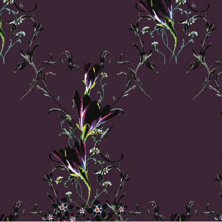 Fabric 22963 | Elegancki wzór dekoracyjny - seria 2