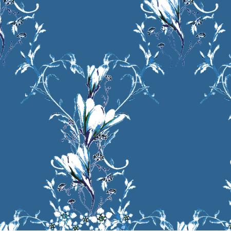 Fabric 22964 | Elegancki wzór dekoracyjny - seria 3