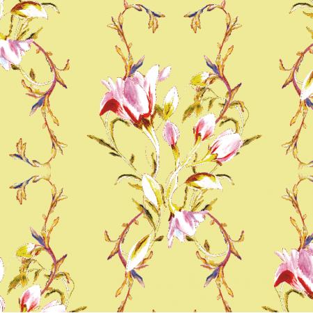 Fabric 22969 | Ornamentowy wzór ozdobny