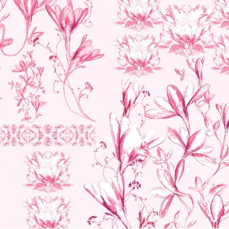 22973 | Kwiaty w oDcieniu turmalinowym