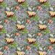 Tkanina 22988 | Kwiat na skalnym tle