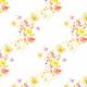 Tkanina 22993   Kwiatowy wzór jak z dawnych lat