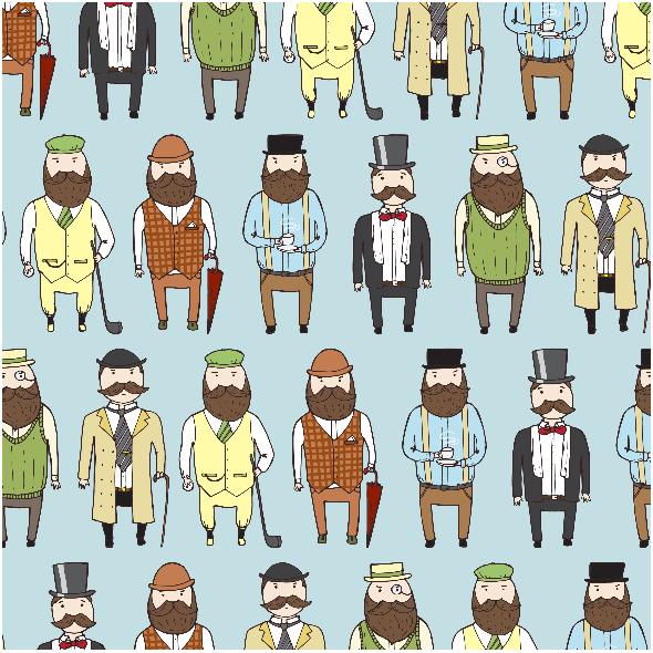 Fabric 2459 | Gentlemen