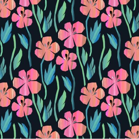 Tkanina 23054 | flowering meadow