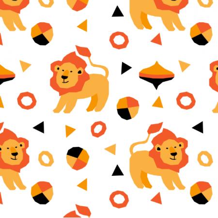 Tkanina 23055 | Lions
