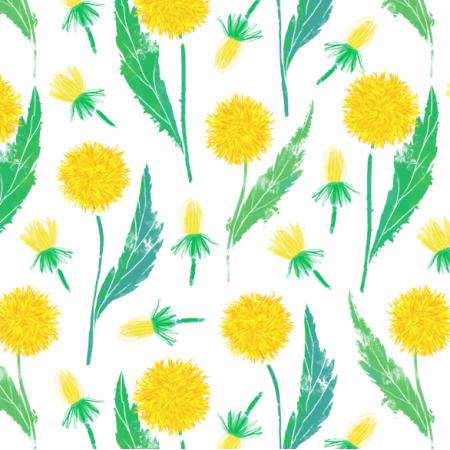 Fabric 23059 | dandelions