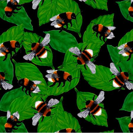 Fabric 23183 | Trzmiele