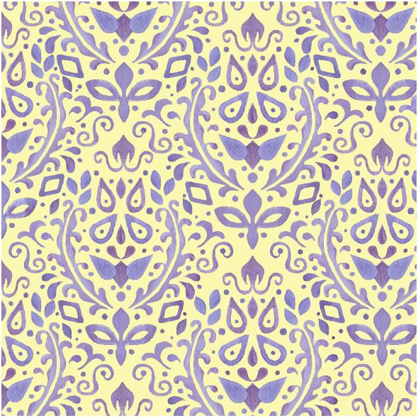 Fabric 23430 | Royal purple pattern