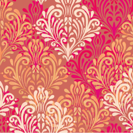 23431 | Royal red pattern