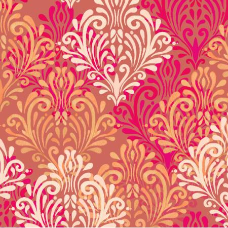 Tkanina 23431 | Royal red pattern