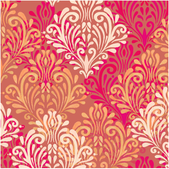 Fabric 23431 | Royal red pattern
