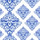 Fabric 23446 | Real blue