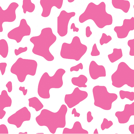23465 | Strawberry cow -  White and pink