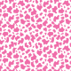 Fabric 23465 | Strawberry cow -  White and pink