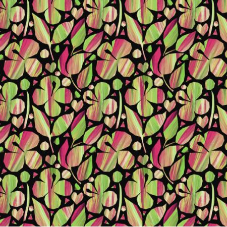 Fabric 23538 | apple blossom