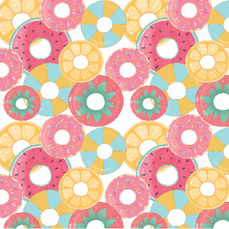 Fabric 23657 | pool floaties small