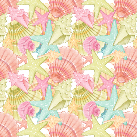 Fabric 23659 | Shells small