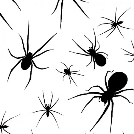 Fabric 23662 | Spiders xl