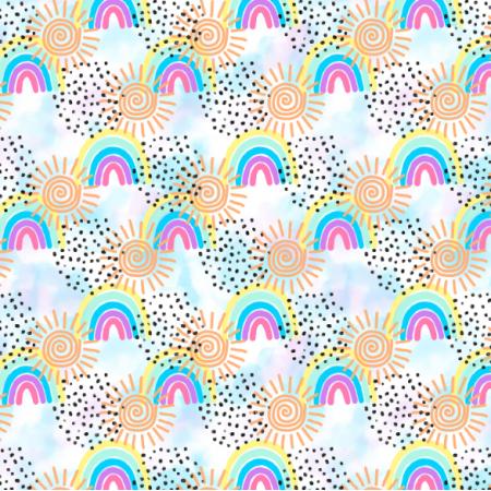 Fabric 23673 | Tęczowe8
