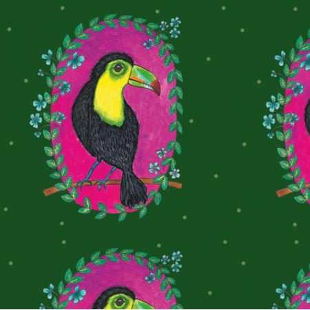 Fabric 23718 | Tukany