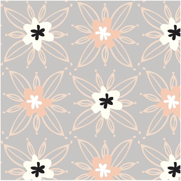 Tkanina 2519 | Garden plot-Dew