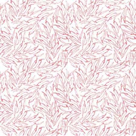 Fabric 23853   chili red