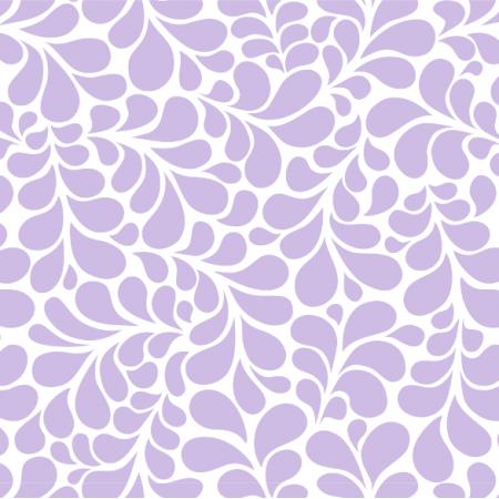 Fabric 23922 | Ornamentalne lawendowe liście. wzór dekoracyjny floresy, zawijasy.