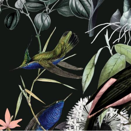 Fabric 23964 | Birds