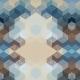 Tkanina 2540 | CUBE 3 SAND