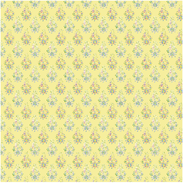 Tkanina 24102   floral style - series 2