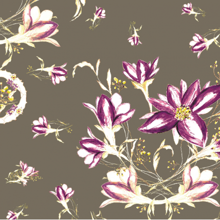 24106 | decorative floral pattern - series 1