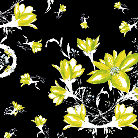 24107 | decorative floral pattern - series 2